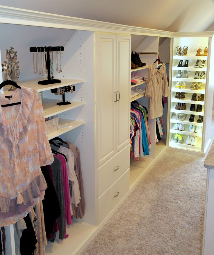 Awesome Sophisticated And Cozy Closet Design