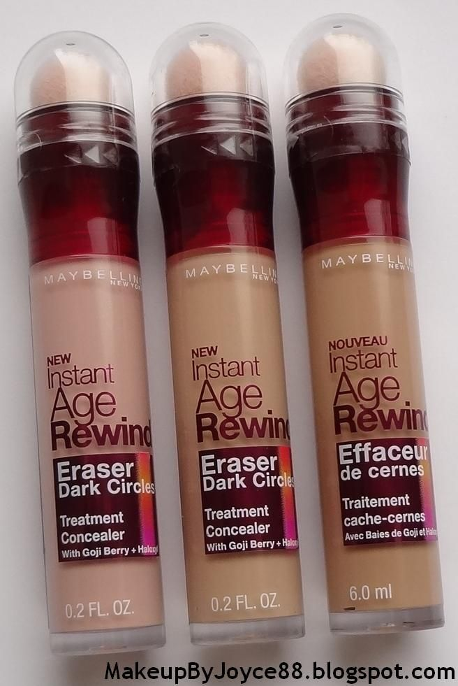 Maybelline Age Rewind Dark Circle Eraser Concealer.  Most illuminating concealer there is.
