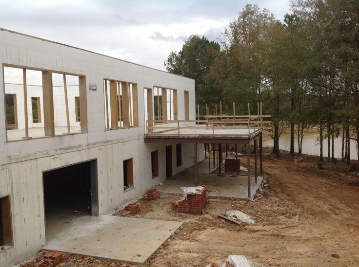 49 best buildblock insulating concrete forms projects for Concrete form homes