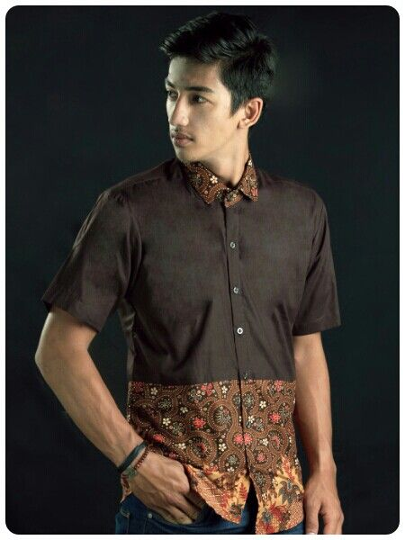 Mavazi summer menswear, fabric : cotton , application : jogja contemporer printing batik