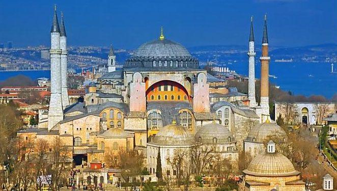Hagia Sophia.  I've wanted to see it since reading about it in history class in high school.
