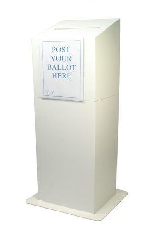 Ballot Box - Floor Standing, CQC compliance