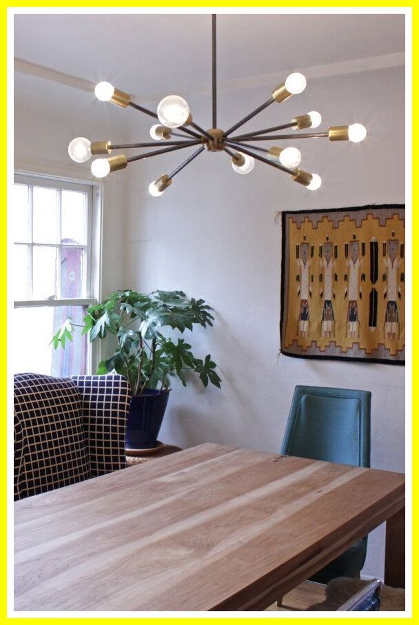 109 Reference Of Ceiling Fan Chandelier Mid Century In 2020 Contemporary Dining Room Lighting Modern Dining Room Lighting Rustic Dining Room Lighting
