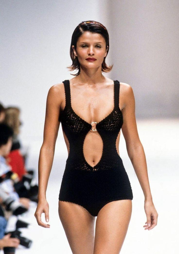 Helena Christensen .. Gucci Runway Show,  Spring/Summer 1995