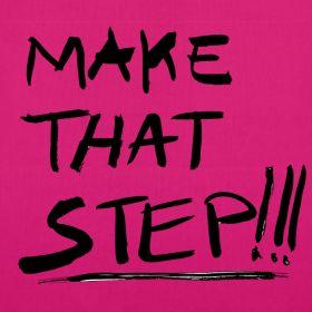 Make that step- Tote bag | Innovazione Quotidiana