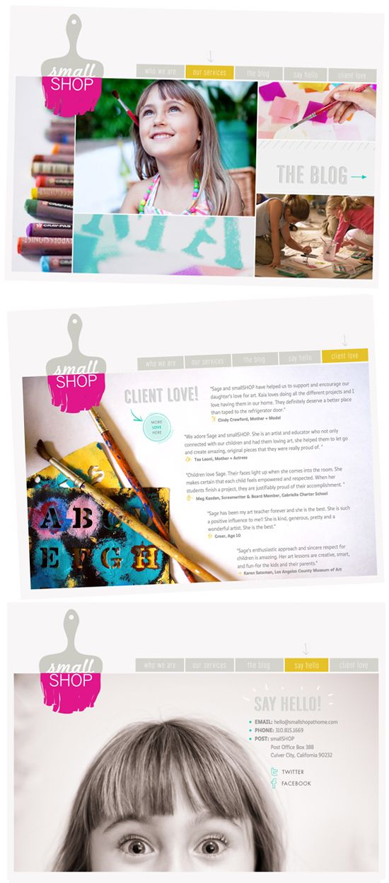 website design by Bri from Design Love Fest