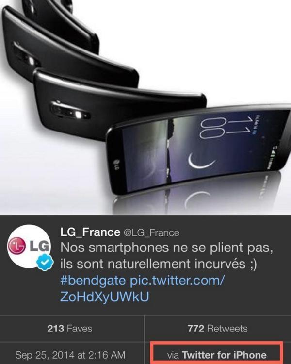 LG Slams Apple and Gets Backlash