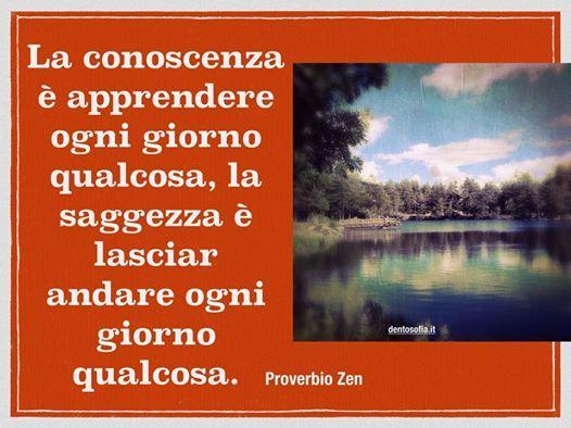 conoscenza e...saggezza