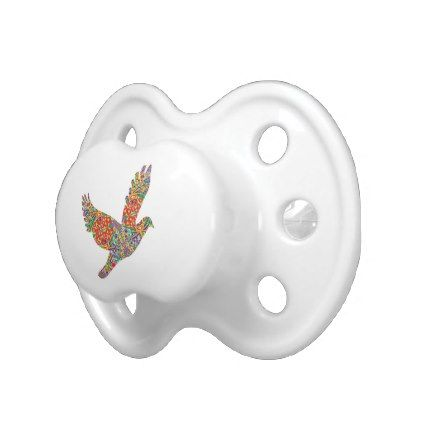 Lucky Angel Bird Lucky7 Goodluck gifts Pacifier - anniversary gifts ideas diy celebration cyo unique