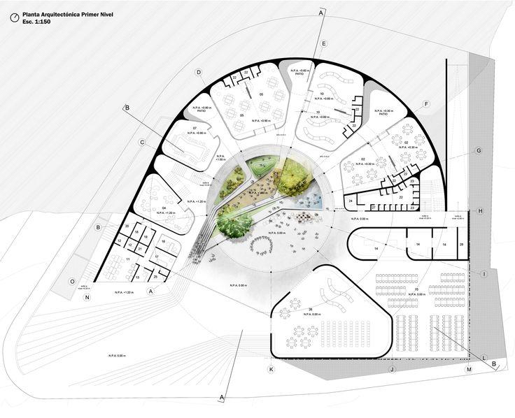 Imagen 8 de 19 de la galería de Arquitectura y Espacio Urbano, primer lugar en diseño del Jardín Infantil Los Grillos en Colombia. Planta