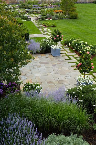 Edmund Hollander Landscape Architects   Casual Country Residence
