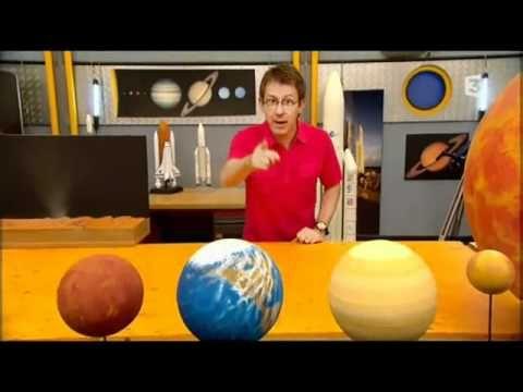 C'est pas sorcier Le systeme solaire 1 Excellente vidéo pour introduire le système solaire