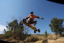 Jozi X - Mountain Boarding. Experienced – beginner riders. Jozi X offers everything, from a beginner course to the slope style section featuring rails and big air, boarder X tracks and a big air bag jump. Hours of fun for adventurous souls!