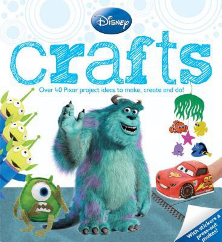 Disney Crafts: Pixar (Paperback)