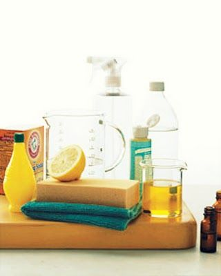 Making the switch to more natural, simple, and home-made cleaning products. No longer spending money on toxic, harmful, and sometimes ineffective items.
