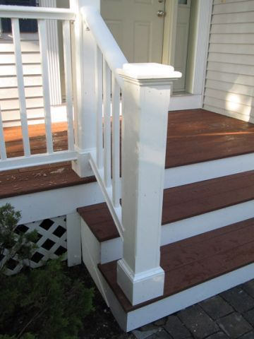 Wooden front porches | Christophersen Construction Company LLC. – Our Projects