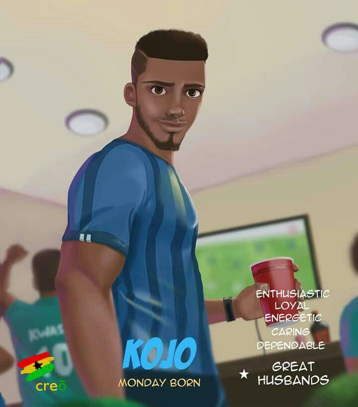 The first of the seven KINGS... KOJO