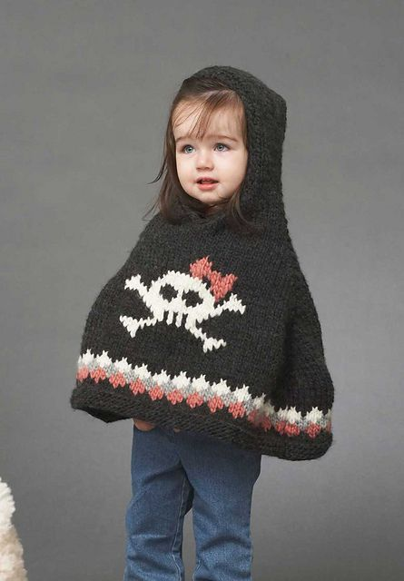 Ravelry Tuff Toddler Poncho Pattern By Bernat Design