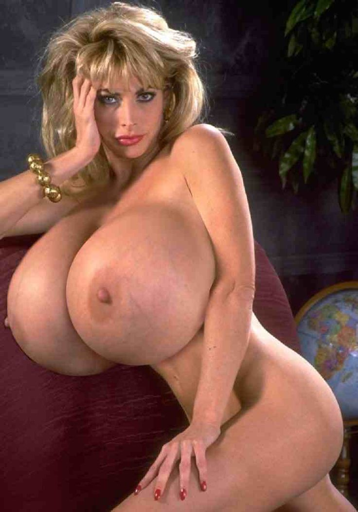 Extremely big boobs