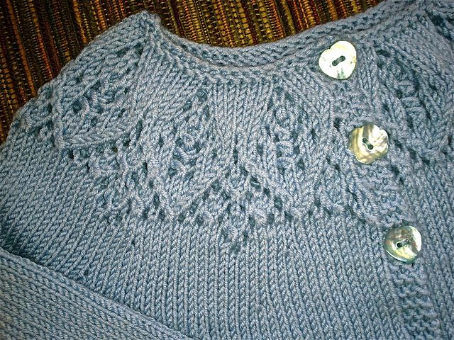 Ravelry: Project Gallery for Meredith Baby Cardigan pattern by Ruth Maddock