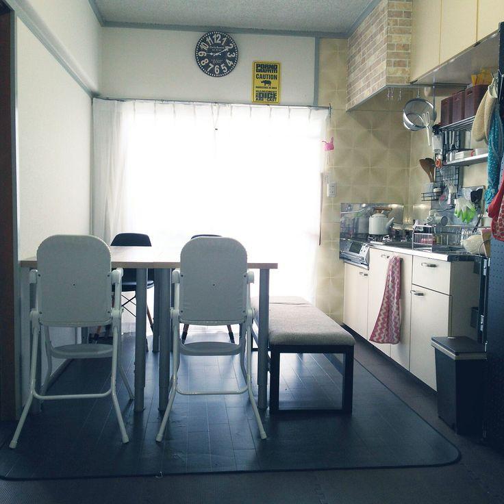 双子/こどもと暮らす。/セリア/ベビーチェア/KATOJI/ベルメゾン…などのインテリア実例 - 2016-08-17 09:19:02 | RoomClip(ルームクリップ)