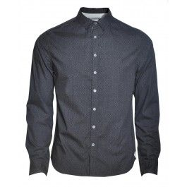 BOLONGARO TREVOR VITTORIA SHIRT (CHARCOAL) - Shirts - Menswear. Available at www.designertop2bottom.com