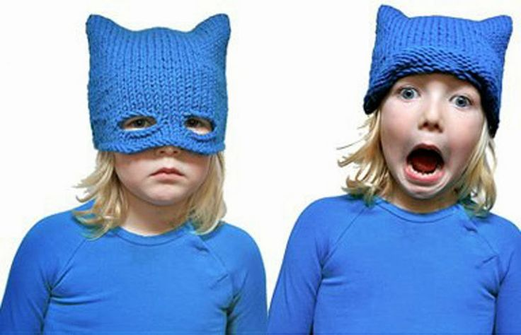 Balaine | Laine online discount | Modeles gratuits: Adorables têtes masquées... Le modèle Bonnet à tricoter !