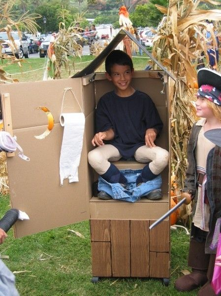Outhouse Halloween Costume