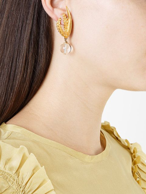Chanel Vintage pendant earrings