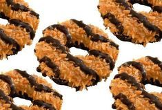 Recipe for Girl Scout Samoa cookies. Holla!
