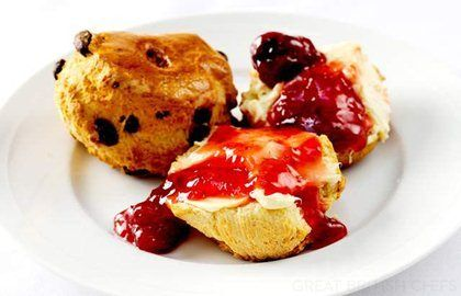 Scone Recipe from William Drabble - Great British Chefs