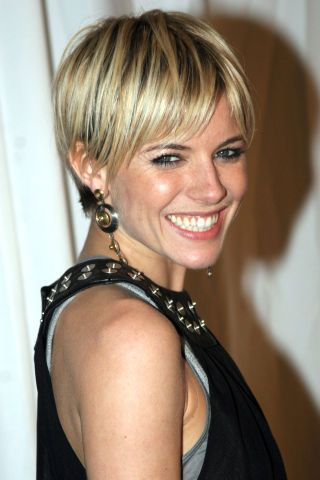 Thinking about getting a short pixie haircut? Take inspiration from the 33 best pixies of all time: Sienna Miller
