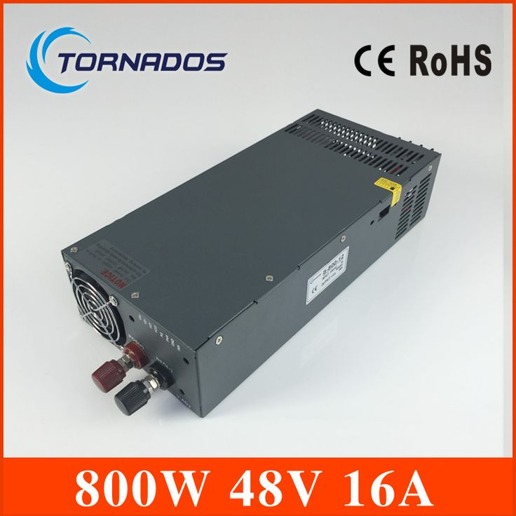Led driver 800W 48V 16A Single Output Switching power supply ...