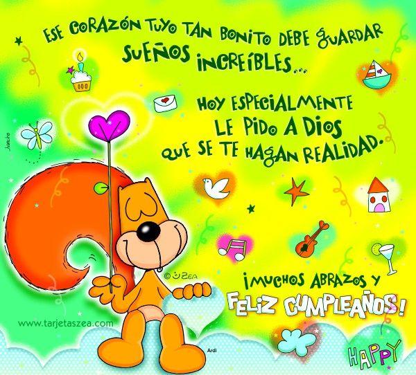 Tarjetas De Felicitaciones Para Facebook | postales de cumpleanos ...