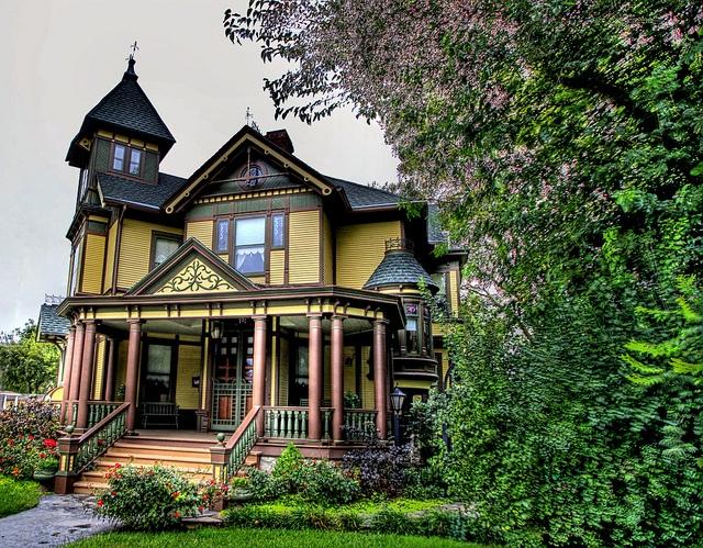 Beautiful Victorian - very similar to the John Gray House.