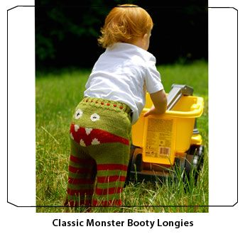 Crankypants hand-knit Longies