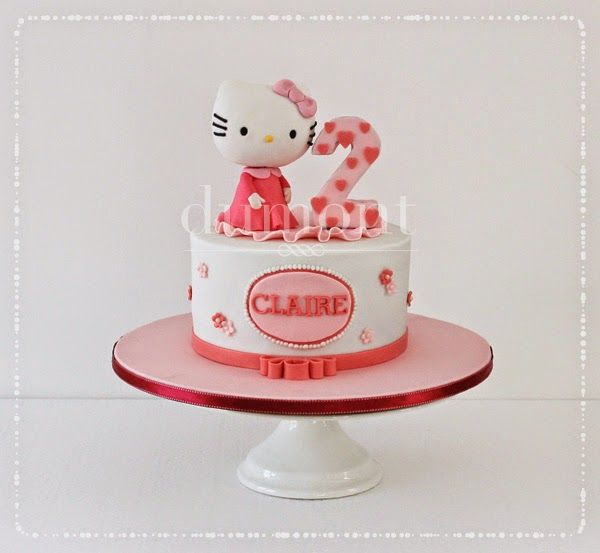 Hello Kitty cake for Claire's birthday