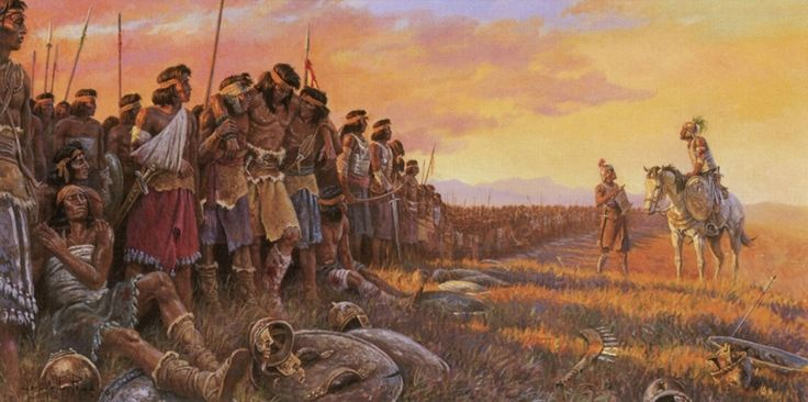 """Why did the Stripling Warriors Perform their Duties """"With Exactness""""? by Book of Mormon Central   Meridian Magazine - LDSmag.com   Helaman's stripling warriors are looked to by Latter-day Saints, especially Latter-day Saint youth, as examples of great faith and courage. The stripling warriors were described as """"young men . . . exceedingly valiant for courage, and also for strength and activity."""" Their unflinching bravery and obedience saved the day at a crucial moment."""
