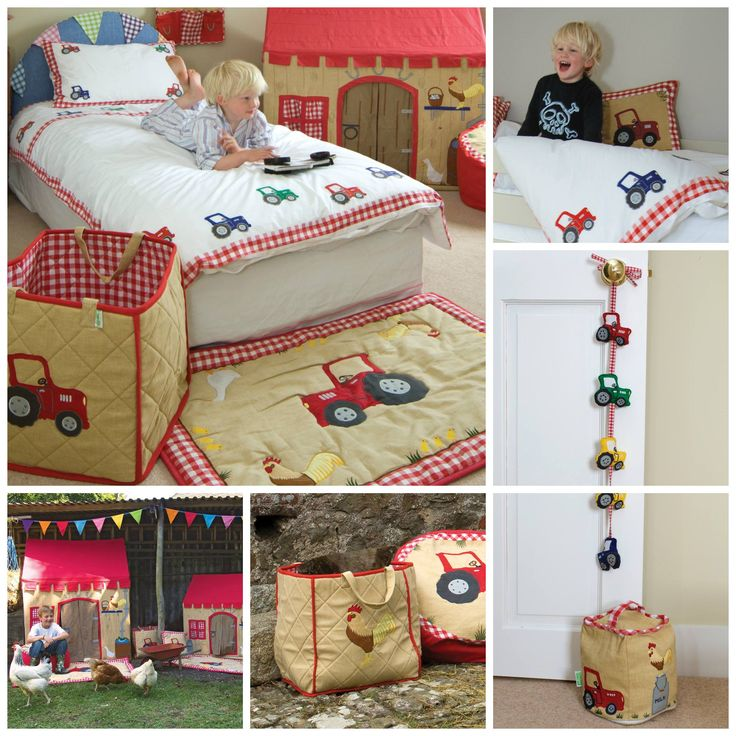 Some of our most popular #nurserybedding sets are now available for the big #kidsbeds. Items can be bought individually with matching #roomdecor items also available to help set up the perfect room for your #child.Our Barn Duvet Set is 100% cotton and is appliqued and embroidered with colourful tractors. You may view more at http://www.petit.com.au #WinGreen #kids #playroom #matchingbeddings #purecotton #petitaustralia #freedelivery #wholesale #retail 