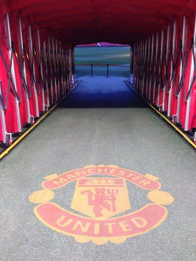 Old Trafford ♥ To think Hannah and I have walked threw this together!!!!!