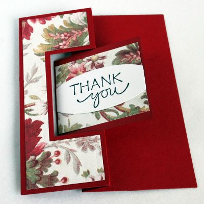 Thank You card by Melody Nunez.