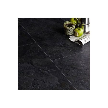 Slate effect luxury vinyl click flooring - 5397007154542 £22 m2