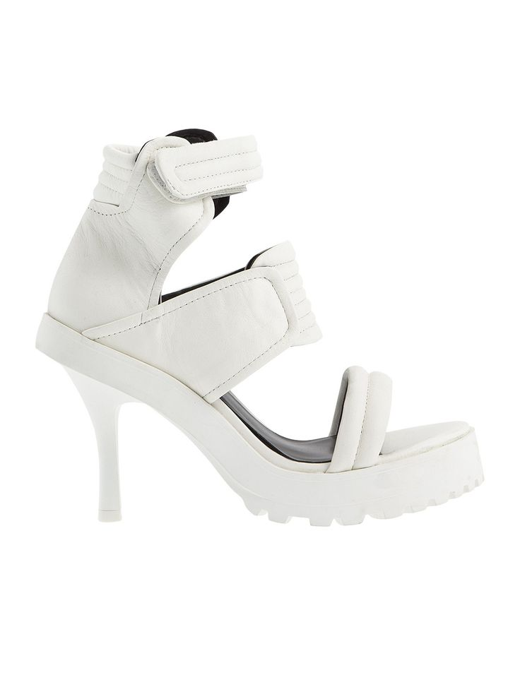 White High Heels Make your statement with Fred Dedicated S/S 2015 - Shae White #Fred #keepfred #shoes #collection #leather #fashion #style #new #women #trends #high #heels #white