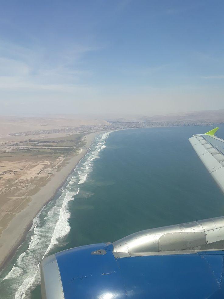 Arica desde el cielo