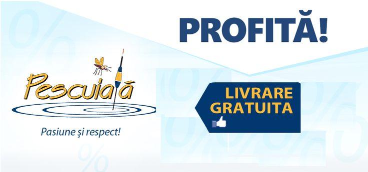 La multi ani Pescuiala.ro - un an de activitate. Cadourile le dam noi! http://goo.gl/xh91UT