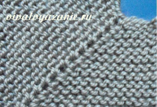 Виды регланных линий при вязании изделия спицами сверху от горловины - разные способы вывязывания и подробное описание с примерами и расчётами.