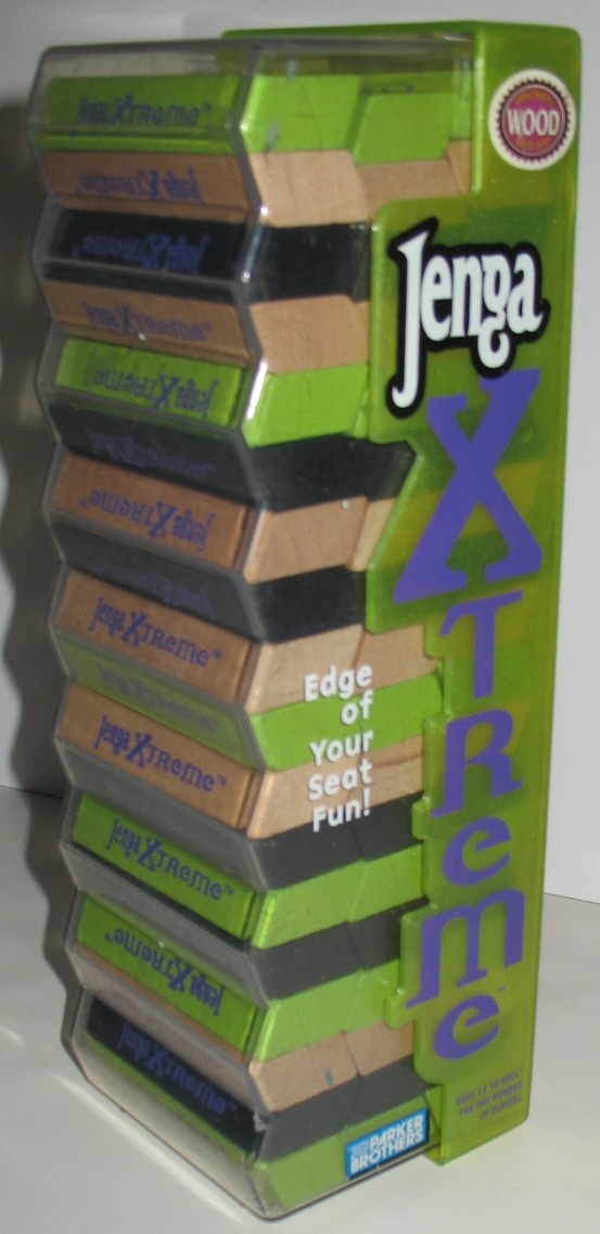 Details about JENGA Xtreme Extreme Parker Brothers Party ...