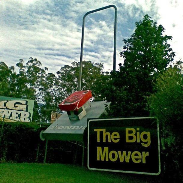 the big lawn mower