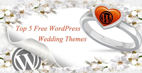 5 Best Free Wedding #WordPress Themes to craft a website you will cherish forever!.