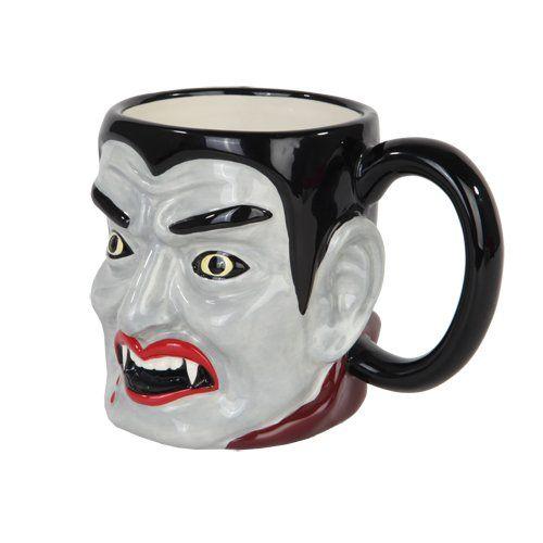 Vampire Dracula Coffee Mug @ niftywarehouse.com #NiftyWarehouse #Dracula #Vampires #ClassicHorrorMovies #Horror #Movies #Halloween #Vampire